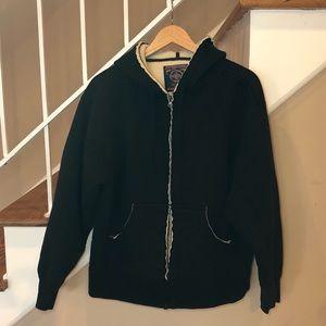 Jansport fleece line full zip hoodie